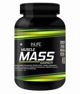 Inlife Mass Gainer Protein Powder Supplement 1 Kg Mass Gainer Powder  Buy Inlife Mass Gainer
