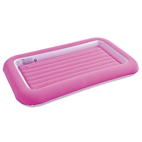 air mattress for toddlers childrens safety flocked kiddy airbed