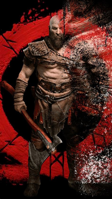 God Of War Hd Wallpaper For Mobile by Kratos From God Of War Hd Mobile Wallpaper Free