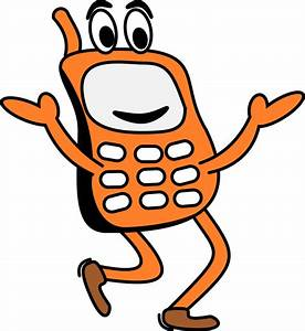 Mobile Phone Cartoon Images - ClipArt Best