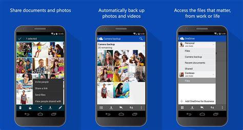 onedrive for android onedrive passe de 15 224 30 go sur les appareils mobiles et