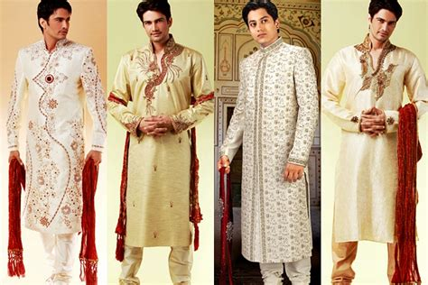 Wedding Dresses For Men : Indian Men's Fashion Catching Up