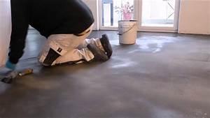 Betonoptik Boden Selber Machen : boden mit beton floor youtube ~ Yasmunasinghe.com Haus und Dekorationen