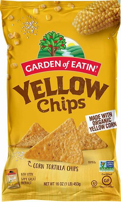 Chips Yellow Tortilla Corn Garden Eatin Nutrition