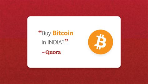 In this story, we will tell you such methods with which you can get bitcoins for free. Buy Bitcoin in India Quora - BuyUcoin Crypto-Labs