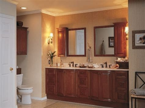 Gray Wall Paint Mirror Wooden Frame Dark Brown Real Wood
