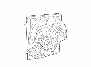 Jeep Liberty Engine Cooling Fan Assembly