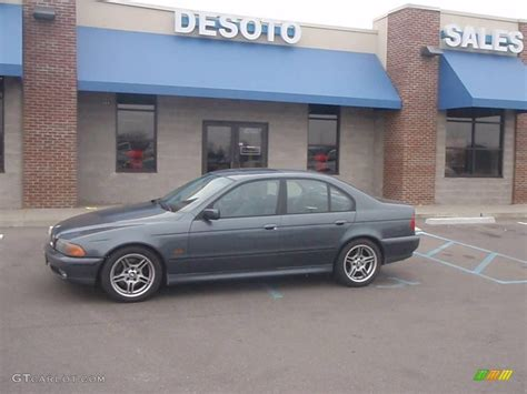 2000 Bmw 540i Specs by 2000 Anthracite Metallic Bmw 5 Series 540i Sedan 4012306