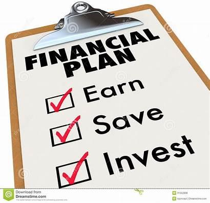 Money Saving Financial Plan Strategy Invest Save