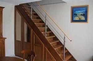 Main Courante Escalier Intérieur : rampes d 39 escaliers et tr mies erminox ~ Preciouscoupons.com Idées de Décoration
