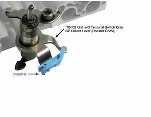 Neutral Safety Back-up Insulator Service Kit