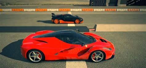 Ferrari La Ferrari Vs. Bugatti Veyron Ss Drag Race