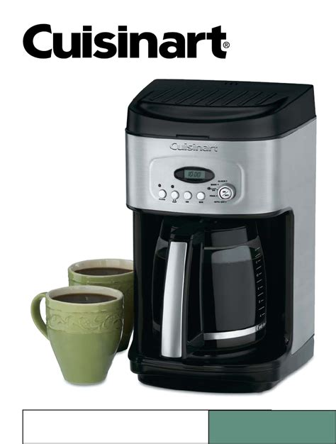 cuisine arte cuisinart coffee maker manual images