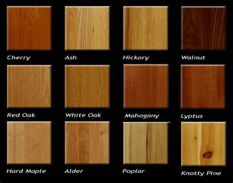 types  wood  woodworking  guide  furniture woods