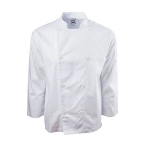 chef revival   chefs jacket  long sleeves poly