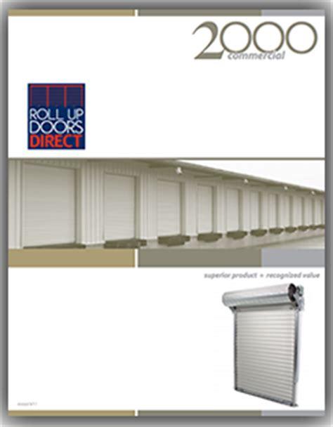 roll up doors direct roll up door direct janus model 2000 prices and details