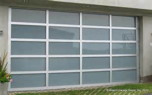 Photos of Clear Anodized Aluminum Garage Doors