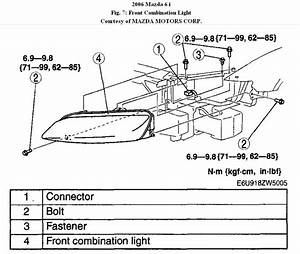 2006 Mazda 6 Headlights Diagram