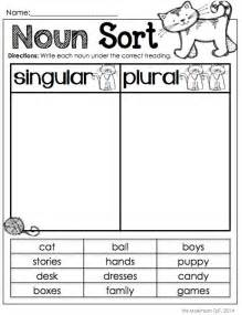singular and plural worksheets for grade 1 1000 ideas about plural nouns on irregular plurals irregular plural nouns and