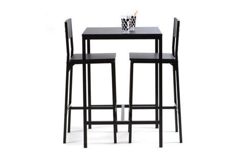 chaise pour table haute table haute avec 2 chaises funky design sur sofactory