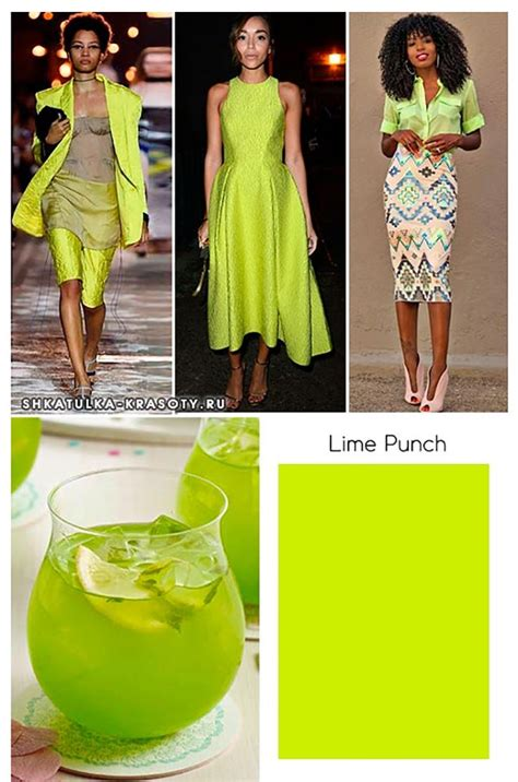 trendy colors  lime punch fashion color trends