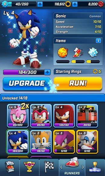 sonic forces mod unlocked  apk  android