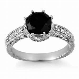 Astonishing Black Diamond Wedding Rings For Women Show