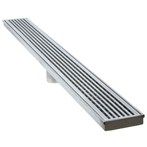 linear drain bathroom sink luxe linear drains 36ww satin stainless 36 quot wedgewire