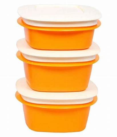 Edge Cutting Yellow Polypropylene Containers Pack