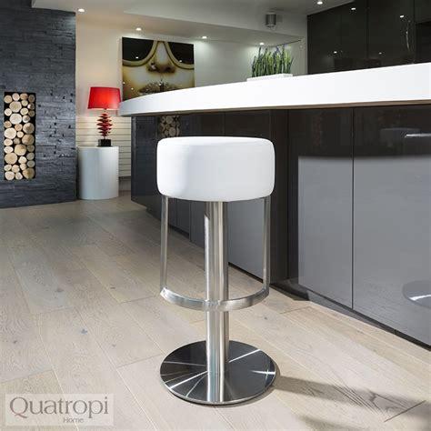 White Breakfast Bar Stools by Luxury White Kitchen Breakfast Bar Stool Seat Brushed