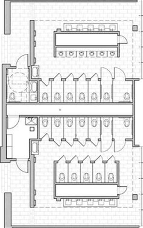ada typical mens restroom with open vestibule entry ncidq toilets