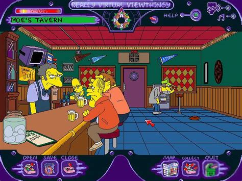 Simpsons: Virtual Springfield, The Download (1997 Arcade ...