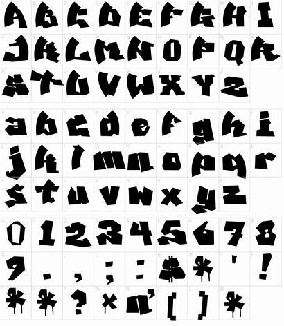 Graffiti Font Mawns Fonts Characters Character Map