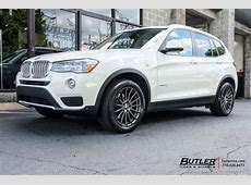 BMW X3 with 18in Beyern Aviatic Wheels exclusively from