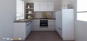 Küchen Ohne Geräte L Form : k chen in u form ~ Indierocktalk.com Haus und Dekorationen