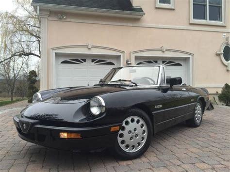 1988 Alfa Romeo Spider by 1988 Alfa Romeo Spider Auto New Car Gallery
