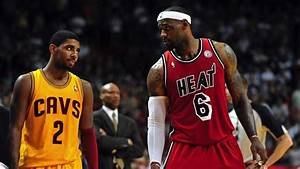 NBA Basketball Lebron James Miami Heat 23 Kyrie Irving ...