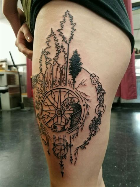 compass tattoo nature tattoos compass tattoo tattoos