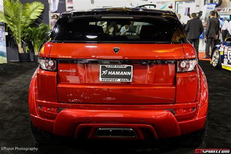 Sema 2018 Hamann Range Rover Evoque Widebody Gtspirit