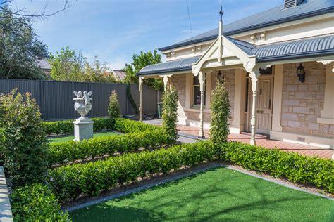 Formal Front Garden Adelaide  Garden Design Solutions