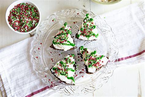 peppermint brownie christmas trees shari s berries blog