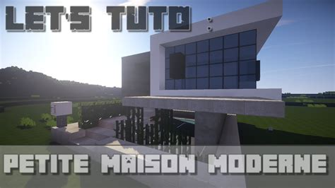 minecraft let s tuto maison ultra moderne downlaod