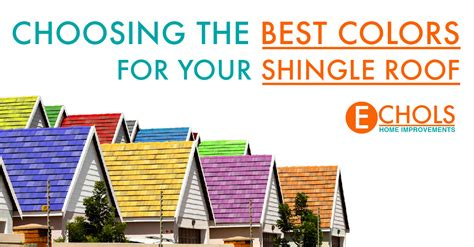 Choosing The Best Colors For Your Shingle Roof