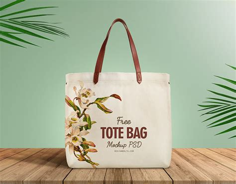 Free levitating envelope mockups to showcase your branding stationery in a photorealistic style. Free Organic Cotton Tote Shopping Bag Mockup PSD