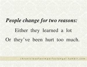 Change quotes and sayings about life people hurt learn ...