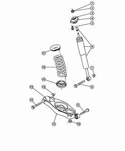 2006 Dodge Charger Isolator  Spring  Lower  Suspension
