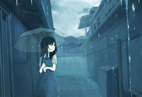 Depressed Anime Wallpaper - sad anime wallpapers wallpaper cave