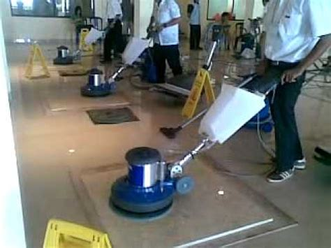 Floor Polishers Buffers Canada by Marble Polishing Using Pads With Floor Polisher