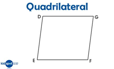 Coloring Quadrilaterals by 2d Shapes What Is A Quadrilateral Shapes