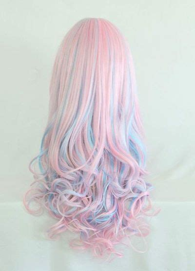 Nice Colored Hair With Curls At The Ends Long Hairstyles